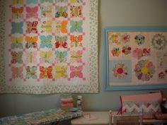 A Quilting Life - a quilt blog: Butterflies