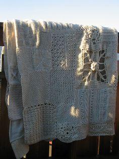 White wool blanket by Torirot, via Flickr
