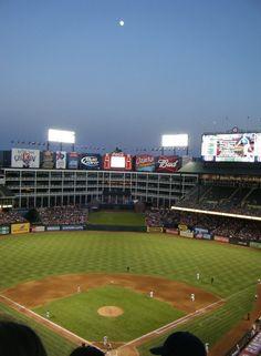 Rangers ballpark. Arlington, Texas