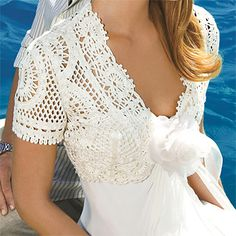 crochet dress bodice
