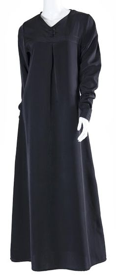 Traditional black abaya; Middle East