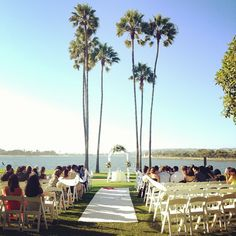 Waterfront Wedding at The Dana on Mission Bay :: Photo by thousand_words • Instagram