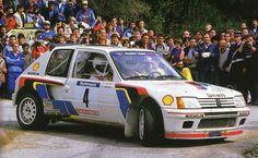 TOUR DE CORSE 1984 Ari Vatanen - PEUGEOT 205 T16 (acident)