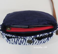 Nikkie Credit Card Wallet Clutch Bag PDF Pattern (#1387)