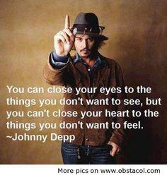 Johnny Depp says....