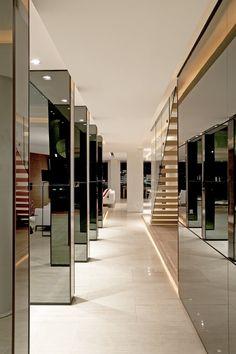 Sandhurst Towers, Penthouse in Johannesburg by SAOTA and OKHA Interiors _