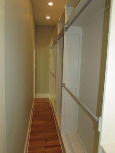 long narrow walk in closet - Google Search