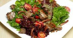 Découvrez cette recette de Salade de foies de volailles et de lardons pour 4 personnes, vous adorerez!