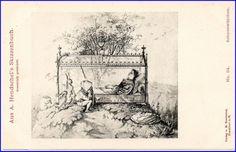 Hendschels Skizzenbuch, Schneewittchen, um 1900 --