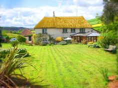 family Deane Thatch seaside holiday cottage South devon