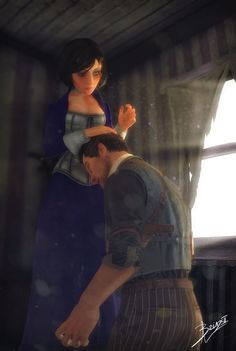 (Bioshock Infinite) Booker's guilt. by Florian Guilbot