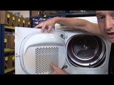 How a tumble dryer works. Ever wanted to know how a tumble clothes dryer works? In this video Matt demonstrates how modern vented and vent-less condenser tumble dryers work.