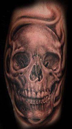 skulls tattoo - 100 Awesome Skull Tattoo Designs  <3 <3