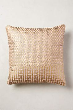 Shimmered Malavika Pillow - anthropologie.com