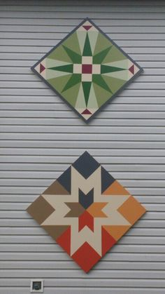 Napanee Ontario, Canada Barn Quilt Designs, Barn Quilt Patterns, Quilting Designs, Star Quilts, Quilt Blocks, Barn Signs, Wood Signs, Quilts Canada, Painted Barn Quilts