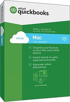 QuickBooks Mac Online 2017 Small Business Accounting Software [Mac Disc]
