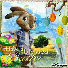 ! I wish you a Happy Easter!