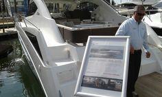 Miami beach boat show #yachts #southbeach