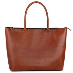 b63e0c703221 Leather Laptop Tote Sienna - Whitney. Laptop Tote BagLeather ...