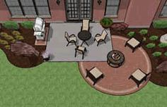 Patio Designs and Ideas for Small Areas   150-350 sq. ft Patios