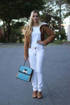 Look da Onça: Jaqueta Aviador + Branco : Onça de Tule – Blog de Moda em BH – Tudo sobre moda, cabelos e maquiagem