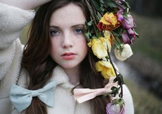 the flowers may be dead but i am alive III. by little body big heart, via Flickr