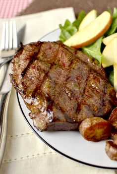 Dijon-Brown Sugar Marinated Steak - A HIT! - couldn't be easier; marinade took less than 5 minutes to prepare; grilled steaks had mild Dijon flavor with a touch of sweetness from the caramelized sugar; whole family loved this!