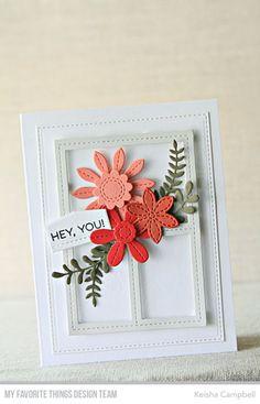 Image result for MFT die-namics stitched flowers