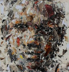 """""""Metaphysical figure,"""" abstract portrait by artist Benon Lutaaya available at Saatchi Art 