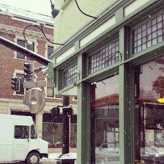Doughnut Shop snow