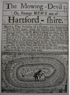 Crop Circles is a very old phenomenon, already described in this pamphlet English 1678.