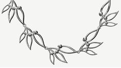 """""""Lumoava Pihla"""" (quote) necklace made of sterling silver Finnish design by Eelis Aleksi Made in Finland by saurum. Finland, Handmade Jewelry, Jewelry Design, Quote, Jewellery, Sterling Silver, Beautiful, Collection, Products"""