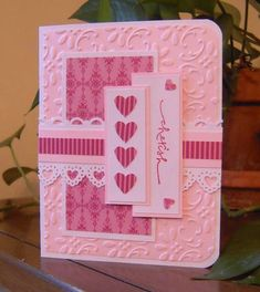 February Stamping Group Sketch by MelodyGal - Cards and Paper Crafts at Splitcoaststampers