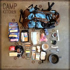 hmmm... to put this in the bug-out or food section... Here. - Backpacking Camp Kitchen