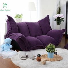 Multifunctional sweet lazy sofa sofa single tatami Single Couch, Lazy, Aliexpress, Furniture Design, Living Room, Sofa Sofa, House, Future, Sweet