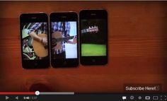 超クリエイティブな3台のiPhoneを使ったミュージックビデオ | A!@attrip