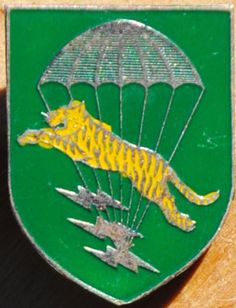LLDB / South Vietnamese Special Forces Beer Can, Crest