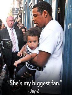 Aww, proud daddy Jay-Z!