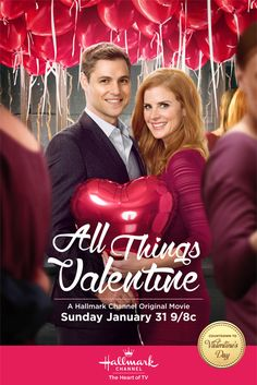 "Its a Wonderful Movie - Your Guide to Family Movies on TV: Hallmark Channel's Countdown to Valentine's Day Movie: ""All Things Valentine"""