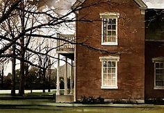 "2001, November by Joseph Alleman Watercolor ~ 14.5"" x 21"""
