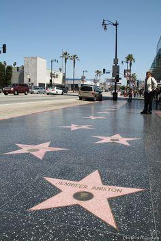 Walk of Fame, Los Angeles    Made by Renske Coolen 2012