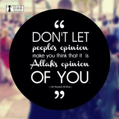 Allah does not think the way we do