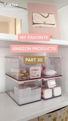 Cute Room Decor, Teen Room Decor, Room Ideas Bedroom, Diy Bedroom Decor, Best Amazon Buys, Amazon Beauty Products, Amazing Life Hacks, Useful Life Hacks, Rangement Makeup