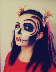 Dia de la muerte inspired halloween 2014