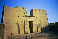 Edfu, Egypt:  The Temple of Horus