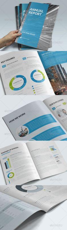 41 Professional Annual Report Templates in Adobe InDesign - annual report templates free download