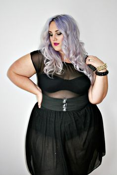 Plus size gothic fashion