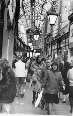 WALES - I read that Thursdays was Valley's day. That was the day for 'That Lot' ffrom the mining villages did their shopping in Cardiff and everyone else stayed away. 33 wonderfully nostalgic pictures that show the changing faces of Cardiff's historic arcades