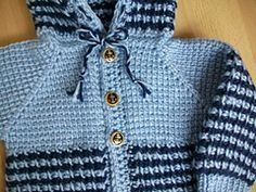 Ravelry: #4 Tunisian Two Color Hoodie pattern by Viola Jack