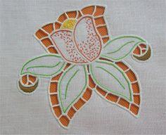 Cutwork embroidery - Ricamo ad intaglio